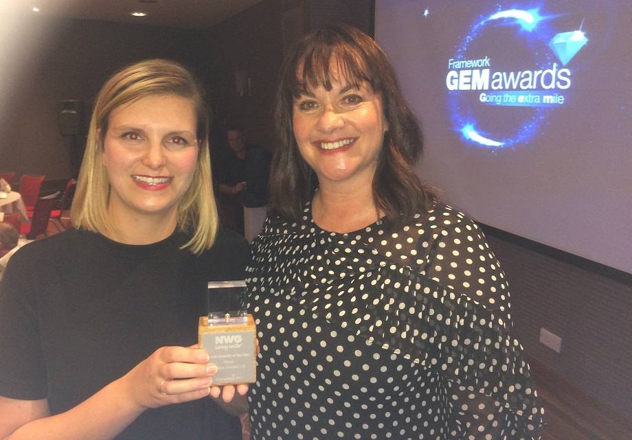 Northumbrian Water GEM Awards Small Supplier of the Year