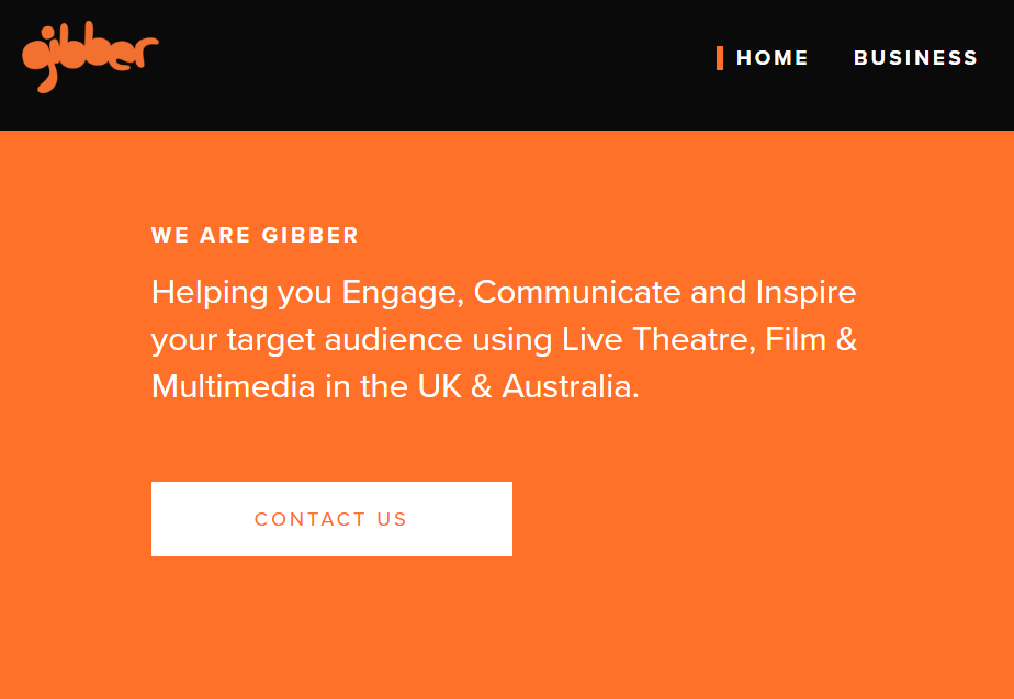 Gibber Website Launch